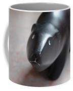 Canadian Polar Bear Carving Coffee Mug