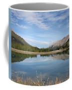 Canadian Rocky Mountains With Lake  Coffee Mug
