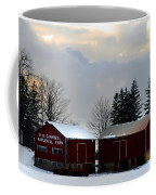 Canadian Snowy Farm Coffee Mug