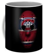Canadiens Jersey Mask Coffee Mug