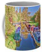 Canal Barges Coffee Mug