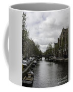 Canal Behind Oude Kerk In Amsterdam Coffee Mug