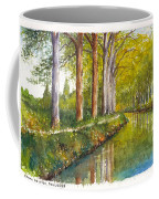 Canal Du Midi At Toulouse France Coffee Mug