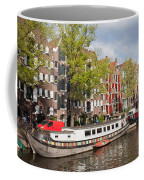 Canal In Amsterdam Coffee Mug