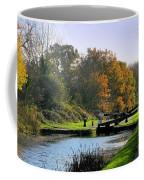 Canal Locks In Autumn Coffee Mug