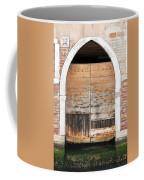 Canalside Weathered Door Venice Italy Coffee Mug