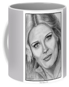 Candace Bergen In 1976 Coffee Mug by J McCombie
