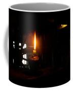 Candle Flame Double Wick Coffee Mug