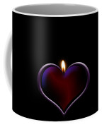 Candle Heart Coffee Mug