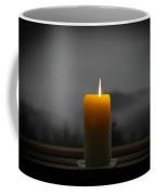 Candle On A Rainy Day Coffee Mug
