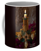 Candle On Day Of Dead Altar Coffee Mug