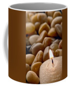 Candle On The Rocks Coffee Mug