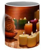 Candles Burning In A Spa  Coffee Mug