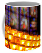 Candles In Notre Dame Coffee Mug