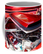 Candy Apple Red Horsepower - Ford Racing Engine Coffee Mug