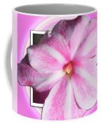 Candy Cane Flower Coffee Mug