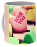 Candy Hearts Coffee Mug