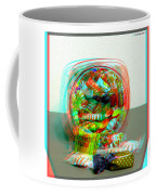 Candy Jar - Use Red-cyan Filtered 3d Glasses Coffee Mug