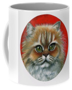Candy Coffee Mug by Val Stokes