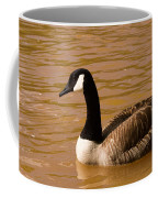 Canidian Goose On Golden Pond Coffee Mug