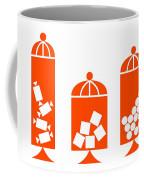 Canisters In Orange Coffee Mug
