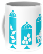 Canisters In Turquoise Coffee Mug