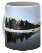Winter Mountain Calm - Canmore, Alberta Coffee Mug
