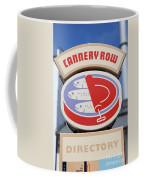 Cannery Row Directory At The Monterey Bay Aquarium California 5d25020 Coffee Mug