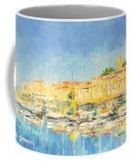 Cannes Harbour Coffee Mug