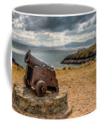 Cannon At Llanddwyn  Coffee Mug by Adrian Evans
