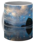 Cannon Beach Calm Morning Tidal Flats Coffee Mug