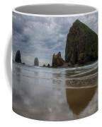 Cannon Beach Haystack Reflection Coffee Mug