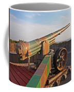 Cannon In Fortress Coffee Mug