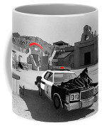 Cannonball Run 2  Brothel Set   Mexican Plaza Old Tucson Arizona 1984 Coffee Mug