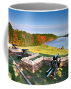 Cannons Overlooking The River Coffee Mug