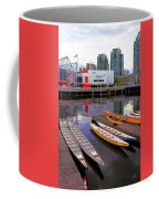 Canoe Club And Telus World Of Science In Vancouver Coffee Mug