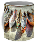 Canoes Coffee Mug by Debra and Dave Vanderlaan
