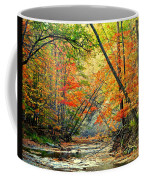 Canopy Of Color II Coffee Mug by Frozen in Time Fine Art Photography