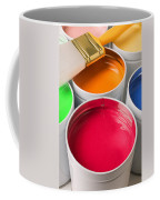 Cans Of Colored Paint Coffee Mug