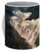 Canyon And Yellowstone Falls Coffee Mug