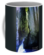 Canyon Creek Narrows And Spills Thousands Of Gallons A Minute  Coffee Mug