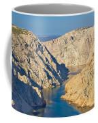 Canyon Of Zrmanja River In Croatia Coffee Mug