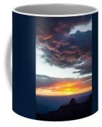 Canyon Sunset Coffee Mug by Dave Bowman