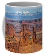 Canyon View From Mesa Arch Overlook Coffee Mug