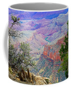 Canyon View From Walhalla Overlook On North Rim Of Grand Canyon-arizona  Coffee Mug