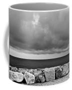 Caorle Dream Black And White Coffee Mug