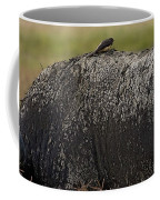 Cape Buffalo And Bird   #9873 Coffee Mug