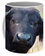 Cape Buffalo Up Close And Personal Coffee Mug