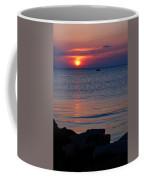 Cape Charles Rocky Sunset  Coffee Mug