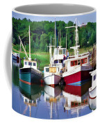 Cape Cod Harbor  Coffee Mug